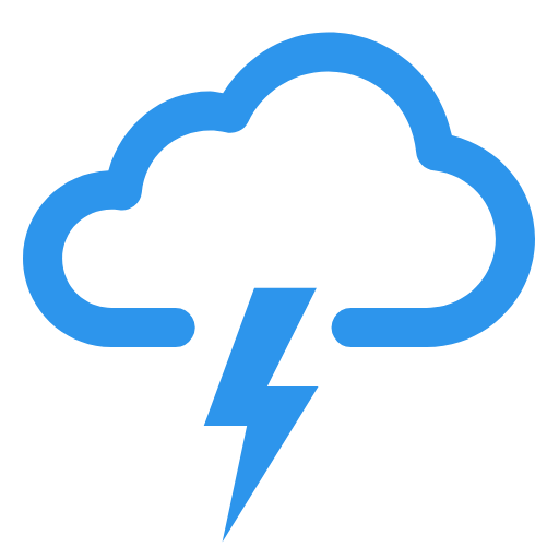 bluestorm logo cloud